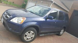 2002 Honda CRV all wheel drive