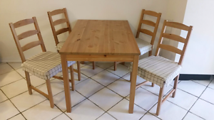 IKEA Table & chairs Yorkeys Knob Cairns City Preview