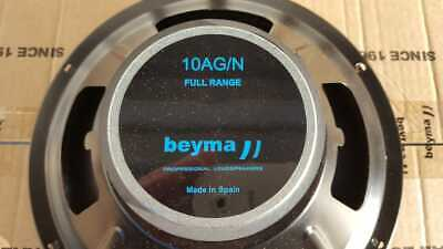 2x Beyma 10AG/N Fullrange,Breitband Lautsprecher