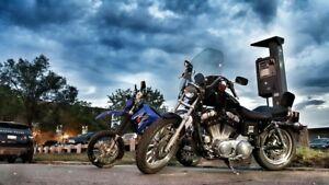 2001 Harley Davidson Sportster XL 883 Hugger (1200 Kit)