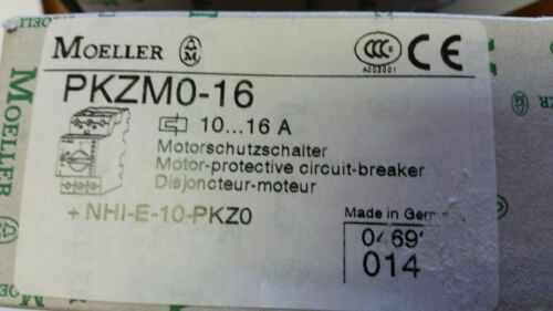 Eaton Moeller PKZM0-16  *NEW IN BOX* Motor Circuit-Breaker