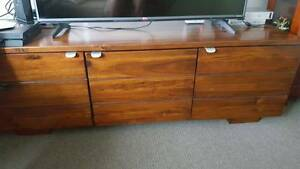 TV cabinet, Timber & Glass dispay cabinet Sandgate Brisbane North East Preview