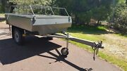 Cub Hard Floor Camper Trailer (lifted for 4x4) Banjup Cockburn Area Preview