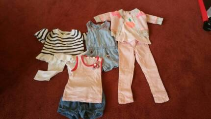 NEW JUST ADDED BABY GIRL CLOTHES Seed, Country road Purebaby, Taylors Lakes Brimbank Area Preview