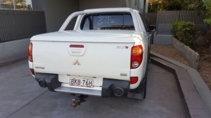 2009 Mitsubishi Triton ML GLX-R Utility Double Cab 4dr Auto 4sp 4 Sydney City Inner Sydney Preview