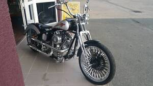 Custom Panhead 93 Rigid Springer Geebung Brisbane North East Preview