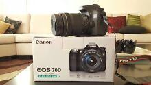 Canon 70D + lenses Macquarie Links Campbelltown Area Preview