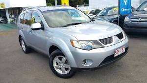 2008 Mitsubishi Outlander, Auto, 4x4, 187Km's, Warranty & 4Cylind Greenslopes Brisbane South West Preview