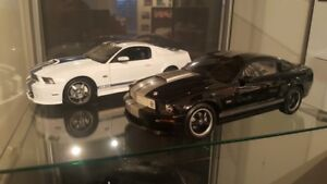 Shelby Collectibles 1/18 diecast Shelby GT 350R and Mustang GT