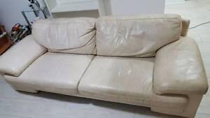 Free leather sofa Lane Cove North Lane Cove Area Preview