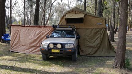 Roof tent and sides awning tents & Roof rack Rooftop tent | Caravan u0026 Campervan Accessories | Gumtree ...