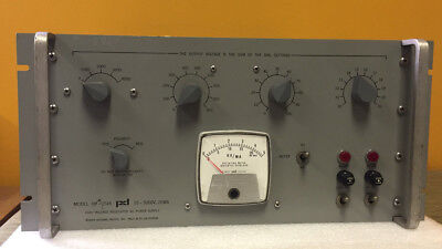 Power Designs Hv-1545 Precision High Voltage Power Supply. For Parts Repair