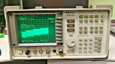 Hp 8563a Spectrum Analyzer