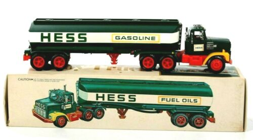 1977 Hess Tanker Truck with the Box