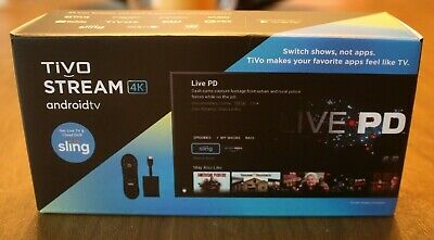TiVo Stream 4K Android Media Player BRAND NEW!