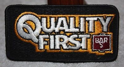 QUALITY FIRST BAR S FOODS COLLECTORS PATCH HOT DOGS SAUSAGES LUNCHMEAT