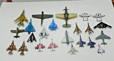 LOT of 27 Diecast/Plastic Military Airplanes
