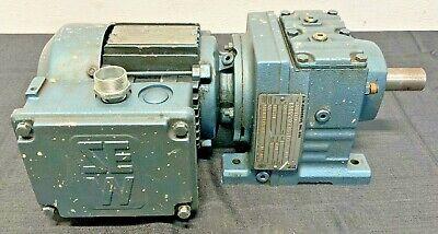 Sew Eurodrive Dft71d2 Ac Motor Wgear Reducer R37dt71d2 3ph 230460v .75hp A6b