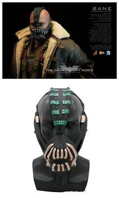 The Dark Knight Rises Batman Cosplay Mask Bane Half Face Helmet PVC Masks Prop