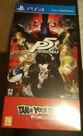 (UK PAL) Persona 5 Take Your Heart Edition New and Sealed
