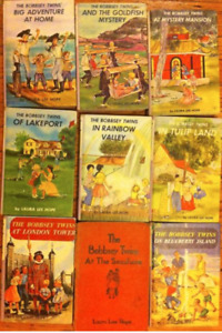 Bobbsey Twins books (9 hardcovers)