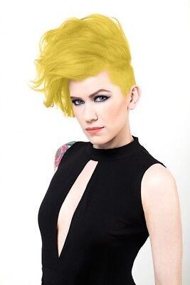 Sparks Long Lasting Permanent Bright Hair Color Dye Cream 3 oz SUNBURST YELLOW - Yellow Hair Dye