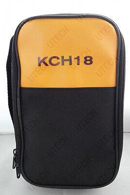 Soft Carrying Casebag For Fluke Hioki Sanwa Kyoritsu Victor Uni-t Multimeter 18