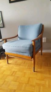 70's Wooden Armchair