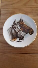 Liverpool Road Pottery Ltd 12cm Horses plate/pin dish