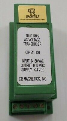Cr Magnetics Dc Current Transducer Cr4511-150 0-150adc