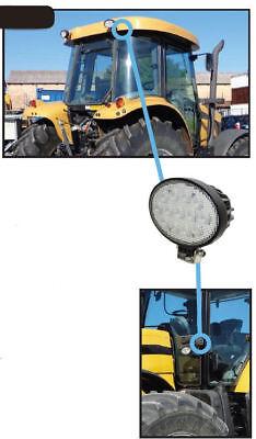 Challenger Tractor Led Rear Fender Handrail Light