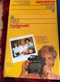 Kodak kodamatic 950 instant camera