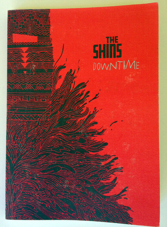 The SHINS Downtime Soft Cover Photo Book 80 Pages OOP Broken Bells