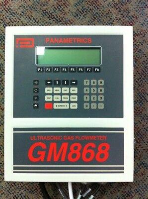 Ge Panametrics Gm868 Ultrasonic Gas Flow Meter
