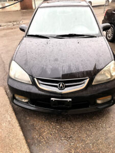 parting out 2004 Acura 1.7EL 5spd Manual for PARTS!! Black in co