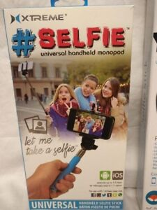 New Xtreme Selfie Universal Handheld Monopod In Sealed Box