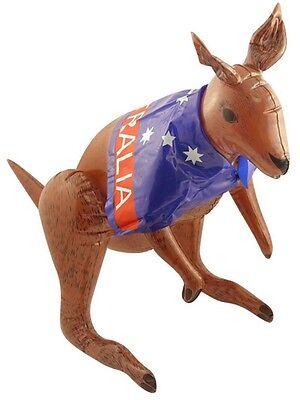 70cm Aufblasbares Känguru Flagge Australischer Kostüm Verkleidung Aussie - Asche Kostüm