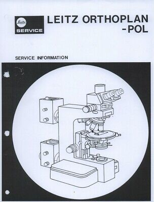 Leitz Orthoplan-pol Microscope Service Information Manual Pdf Document