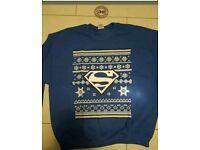 Superman christmas jumper sweater