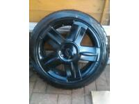 Renault Clio 172 Sport 16 Inch Alloys Black With Tyres