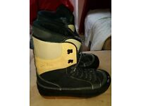 Size 11 snowboard boots