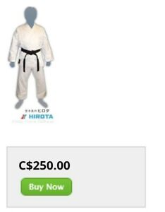 Hirota M H-l I Karate Uniform - 12oz size 3
