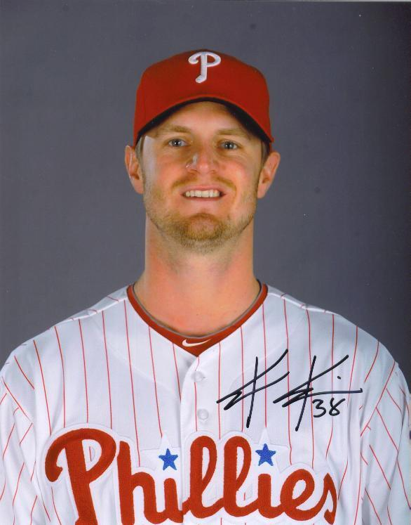 Kyle Kendrick Signed Color 8X10 Photo PHILLES PSA/DNA Quick Opinion