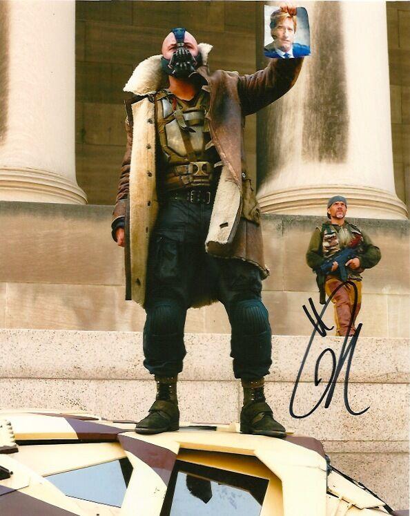 Dark Knight Rises Tom Hardy Autographed Signed 8x10 Photo COA