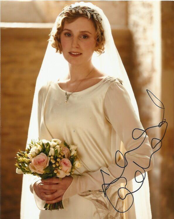 Downton Abbey Laura Carmichael Autographed Signed 8x10 Photo COA