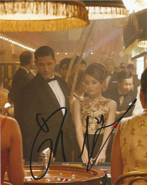 Emily Browning Tom Hardy Legend Autographed Signed 8x10 Photo COA D
