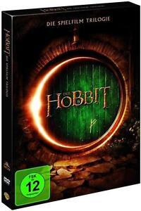 Der  Hobbit 3 die Trilogie [ DVD]  ( Teil 1 + 2 +  3 )    NEU OVP