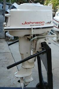 Johnson 10 hp outboard motor