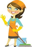 Experienced Housekeeper/ Cleaning lady