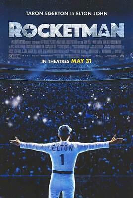 Rocketman - original DS movie poster 27x40 D/S FINAL  - Elton John GD